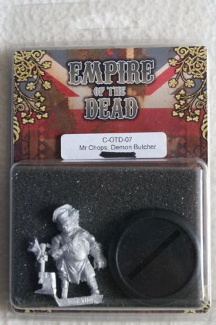 Westwind 28mm Empire Of The Dead C-OTD-07 Mr Chops, Demon Butcher